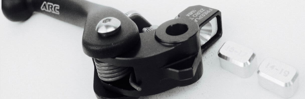 "NEW! 6-WAY ADJUSTABLE 'TOMAC PROVEN"" LEVERS"